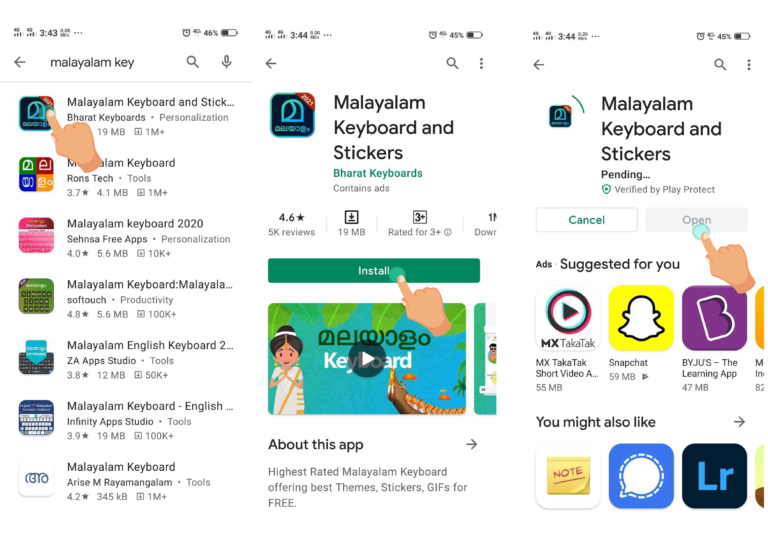 Step by Step Guide to download Malayalam Keyboard On Your Android Phone?