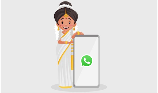 How to add a Malayalam keyboard to WhatsApp?